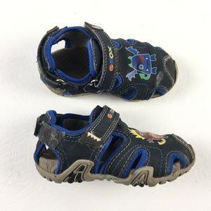 """GEOX """"Little Monsters"""" Sandals DR01224"""